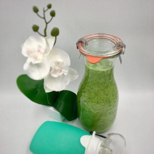 Grüner Smoothie für Mama & Baby